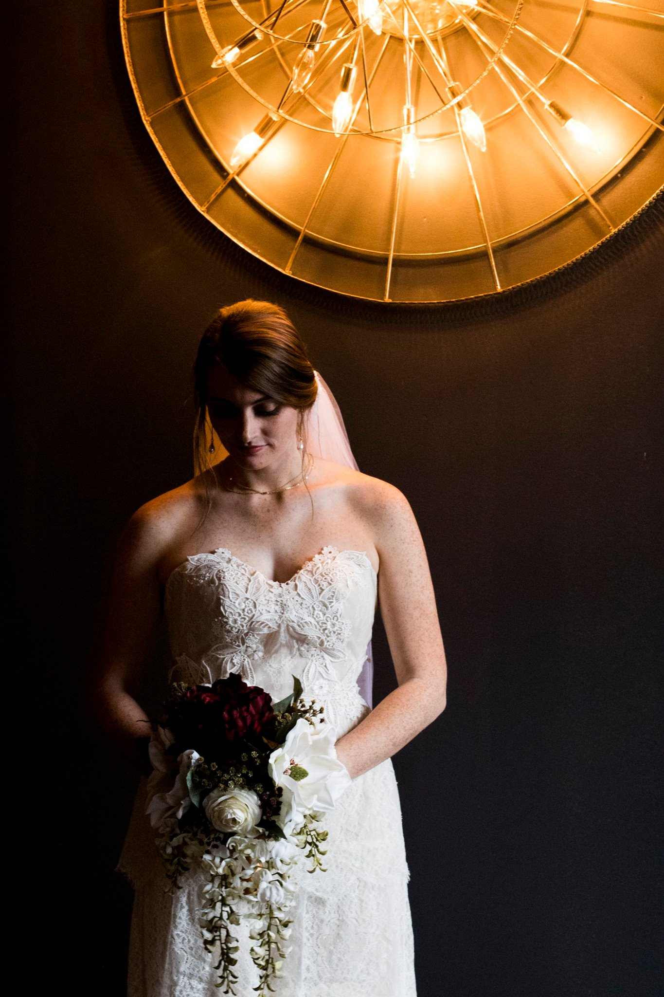 bridal portrait at the Southerly Warehouse