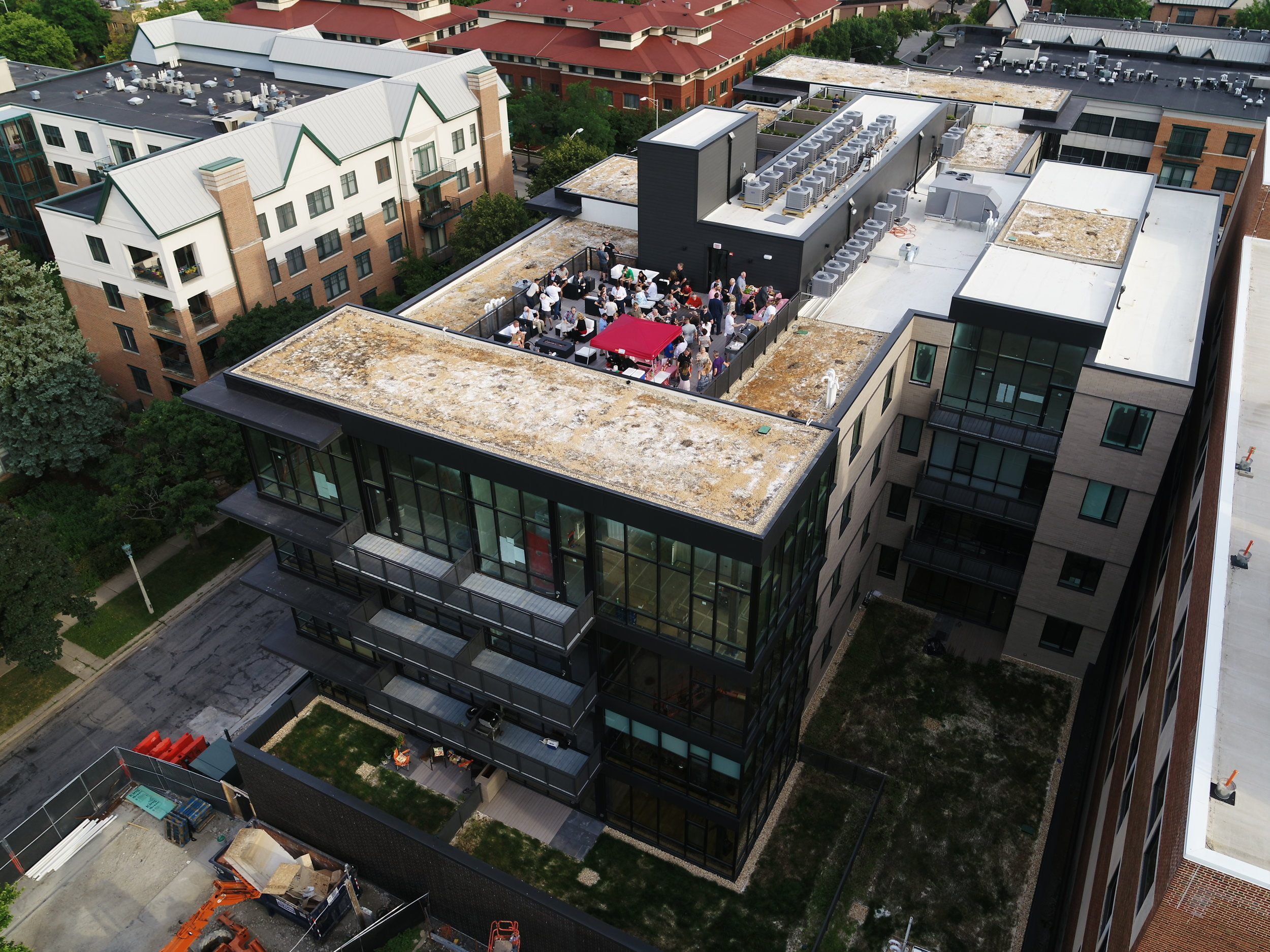 Penthouse 506 goes under contract as the project approaches completion