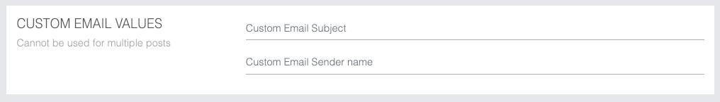 Sociuu email values
