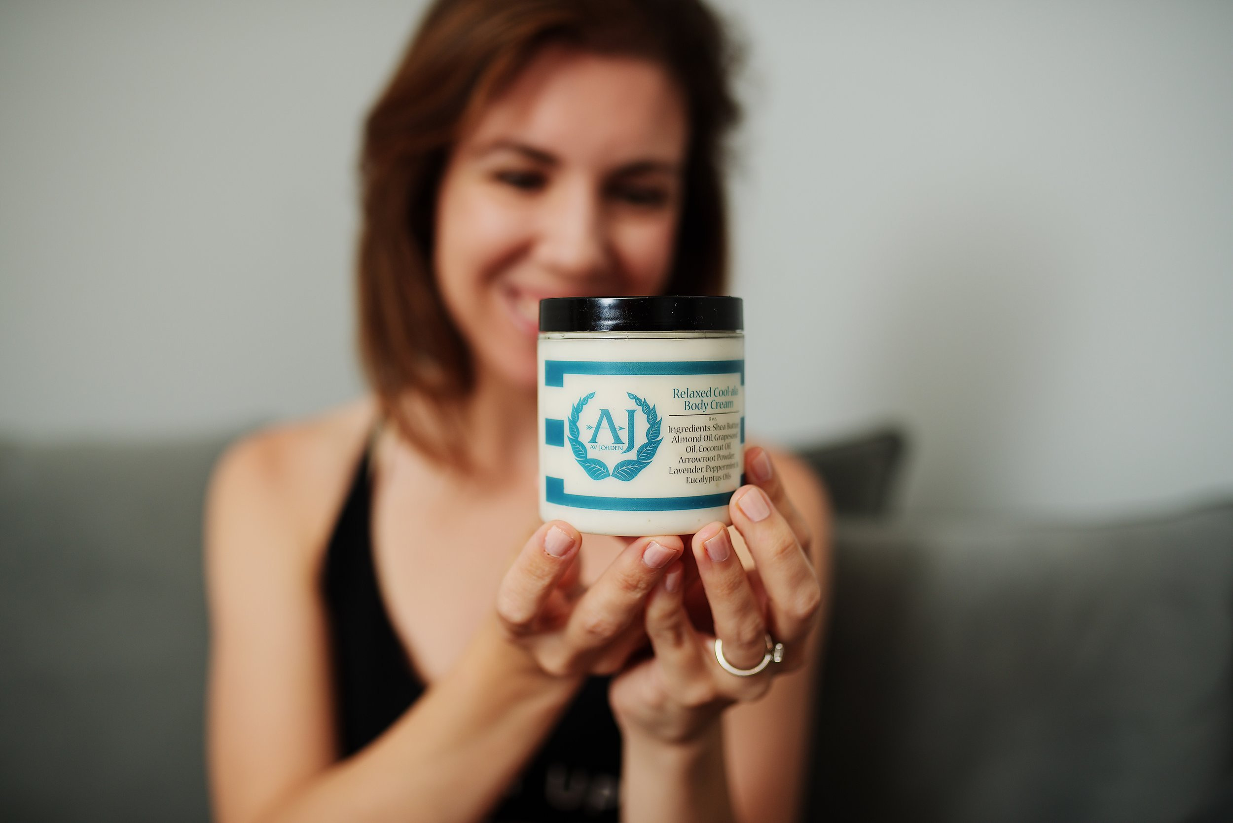 Jamie of  @mommyinflats  with her favorite body cream scent. She has thee cutest outfits and I really wish she could be my personal stylist. Photo credit:  @jfullerco