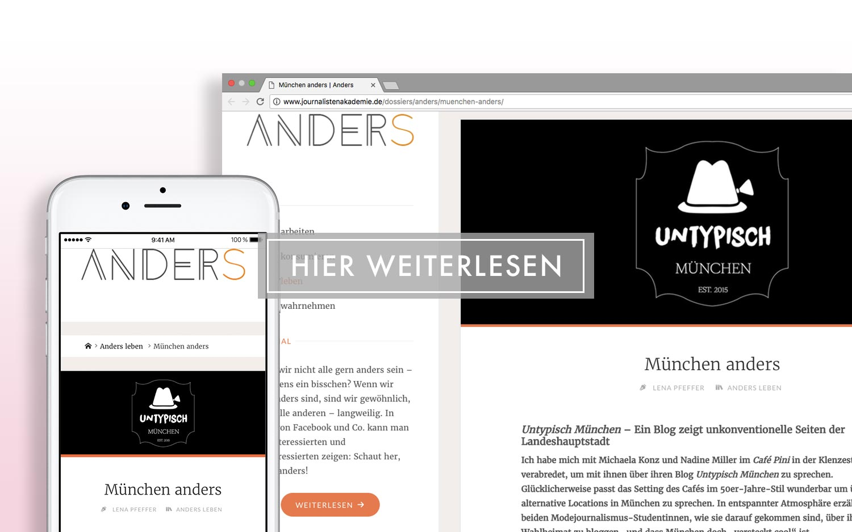 Journalisten Akademie - München anders