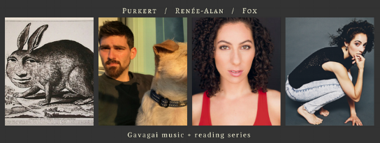 SEASON FINALE! Thurs, May 10th, 2018 @8PM, The Owl:  Ben Purkert ,  Leta Renée-Alan ,  Nora Fox