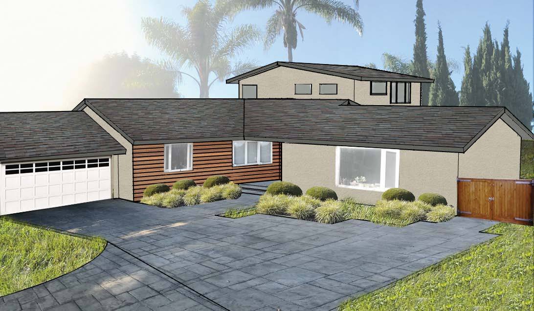 Addition, remodel, new house, modern home