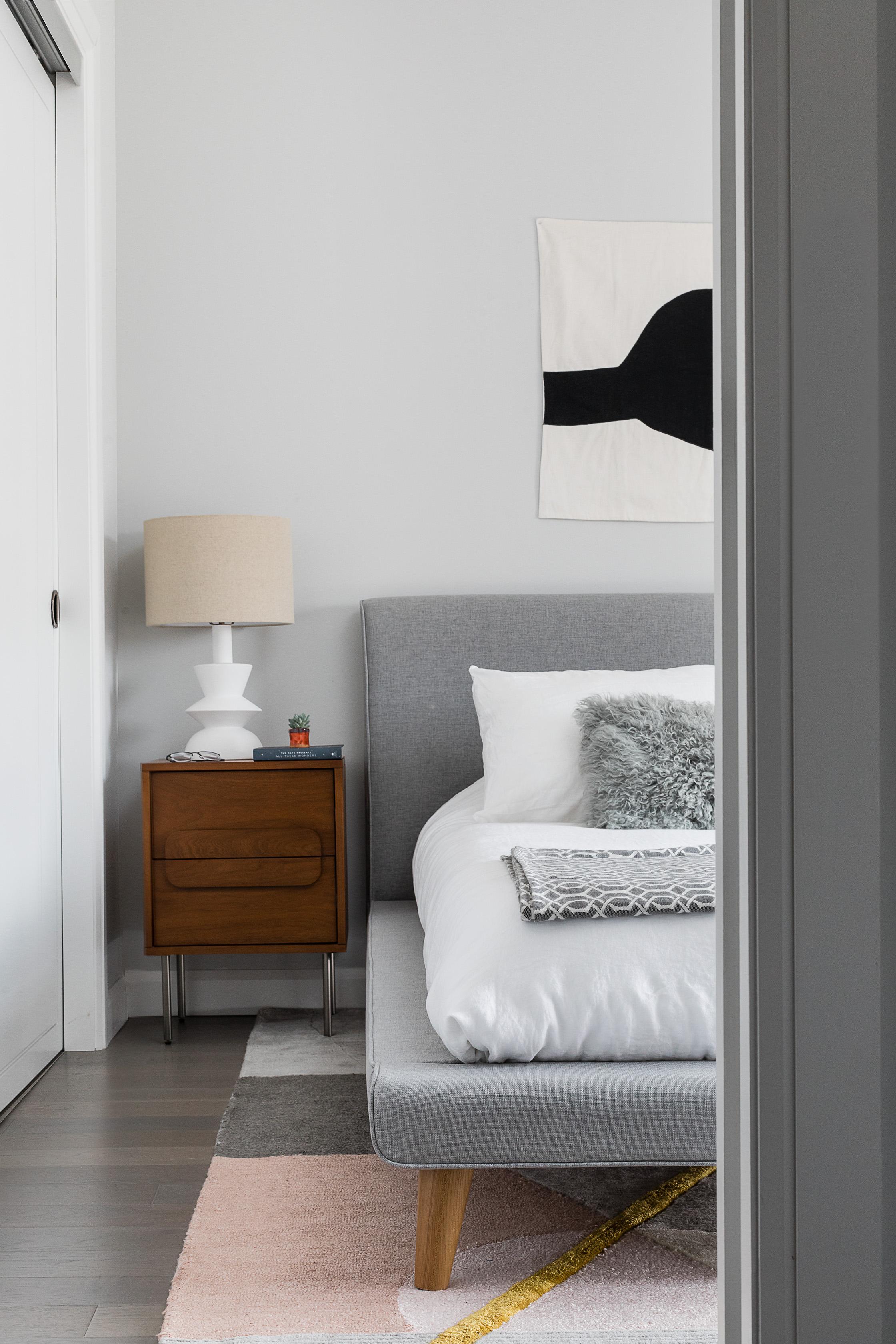 a simple modern guest bathroom remodel