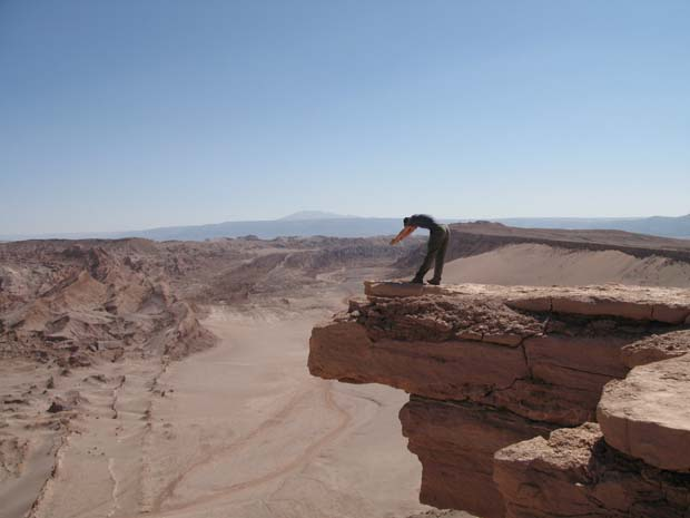 Diving head first into San Pedro de Atacama's wasteland.