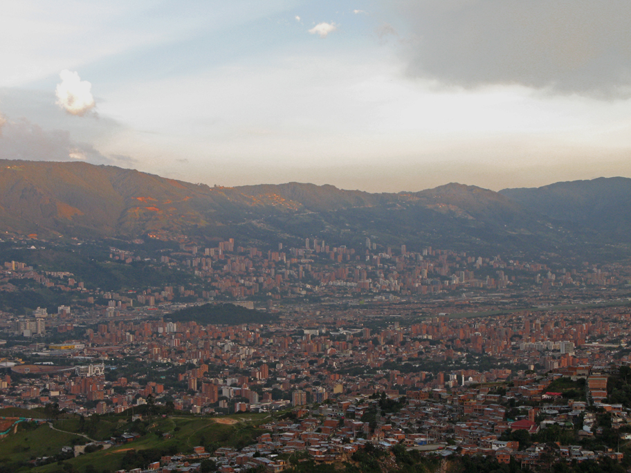 Medellin, Colombia - Former drug capital of the world, now a burgeoning city filled with warm smiles, music, vibrant culture, and nightlife.