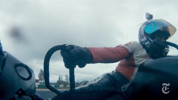 At 83, Stan still bests in ability most of us motorcyclists as a sidecar 'passenger' around the Mallory Park raceway.