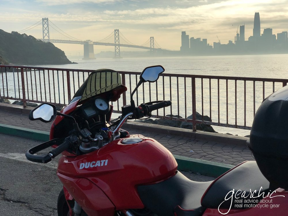 A lovely shot of the 2009 Ducati Multistrada 620 Joanne Borrowed in California