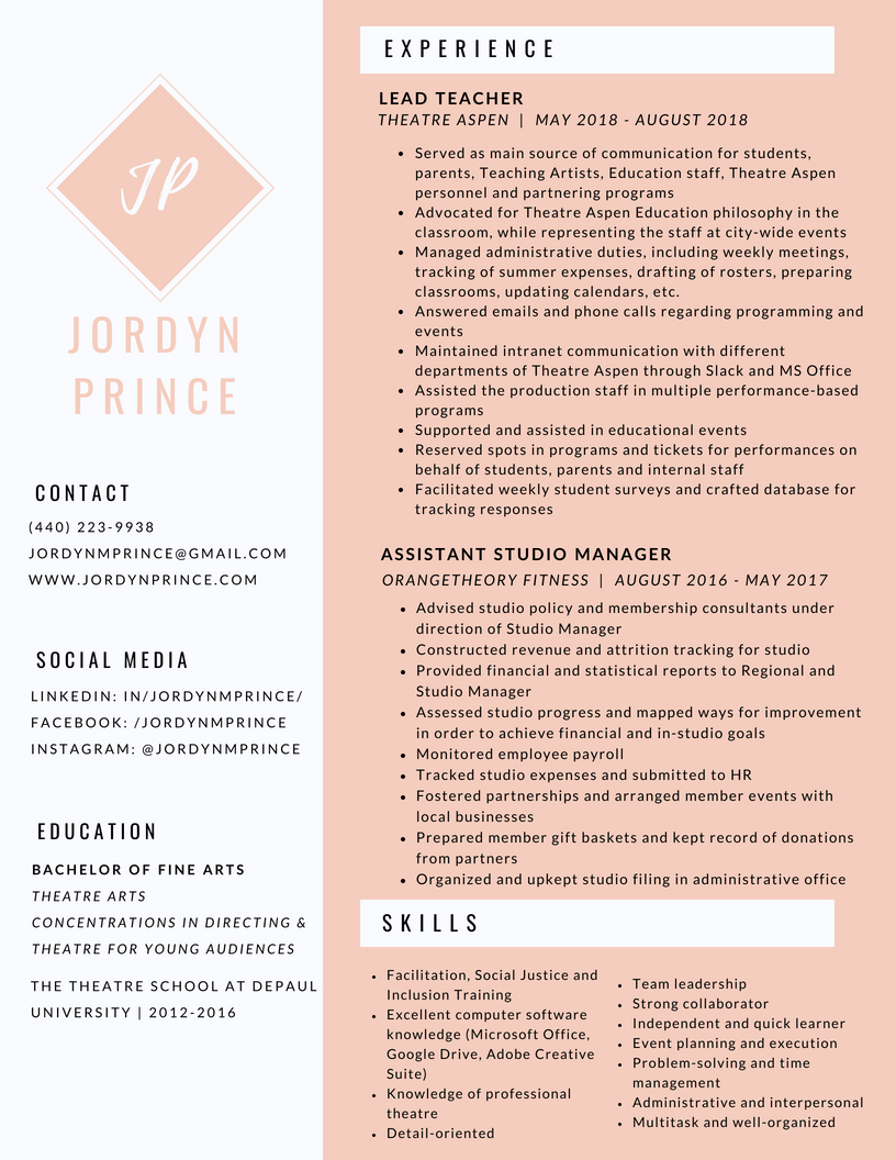 Prince-Admin Resume