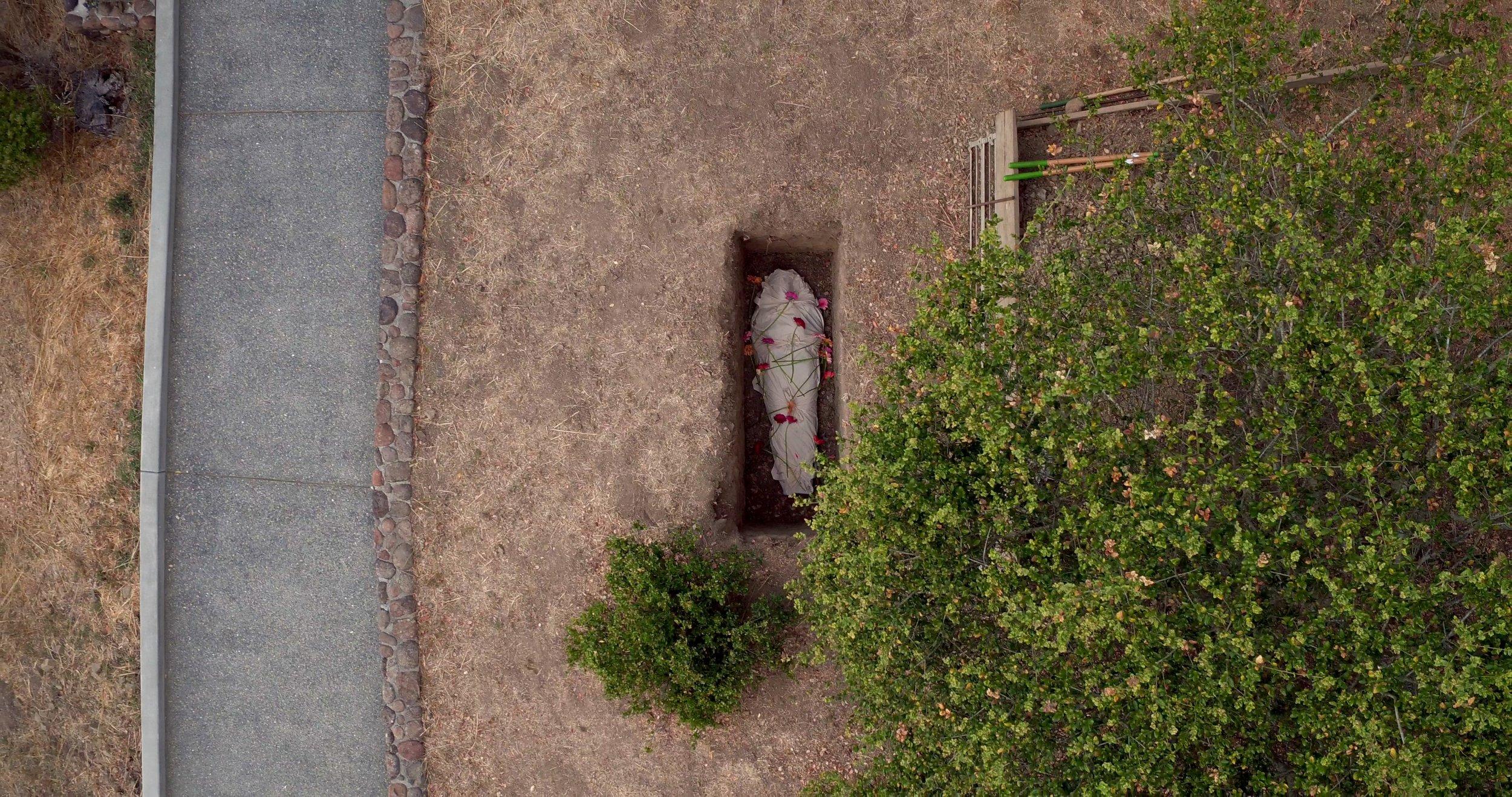 Shrouded in grave 2 - overhead at Fernwood.jpg