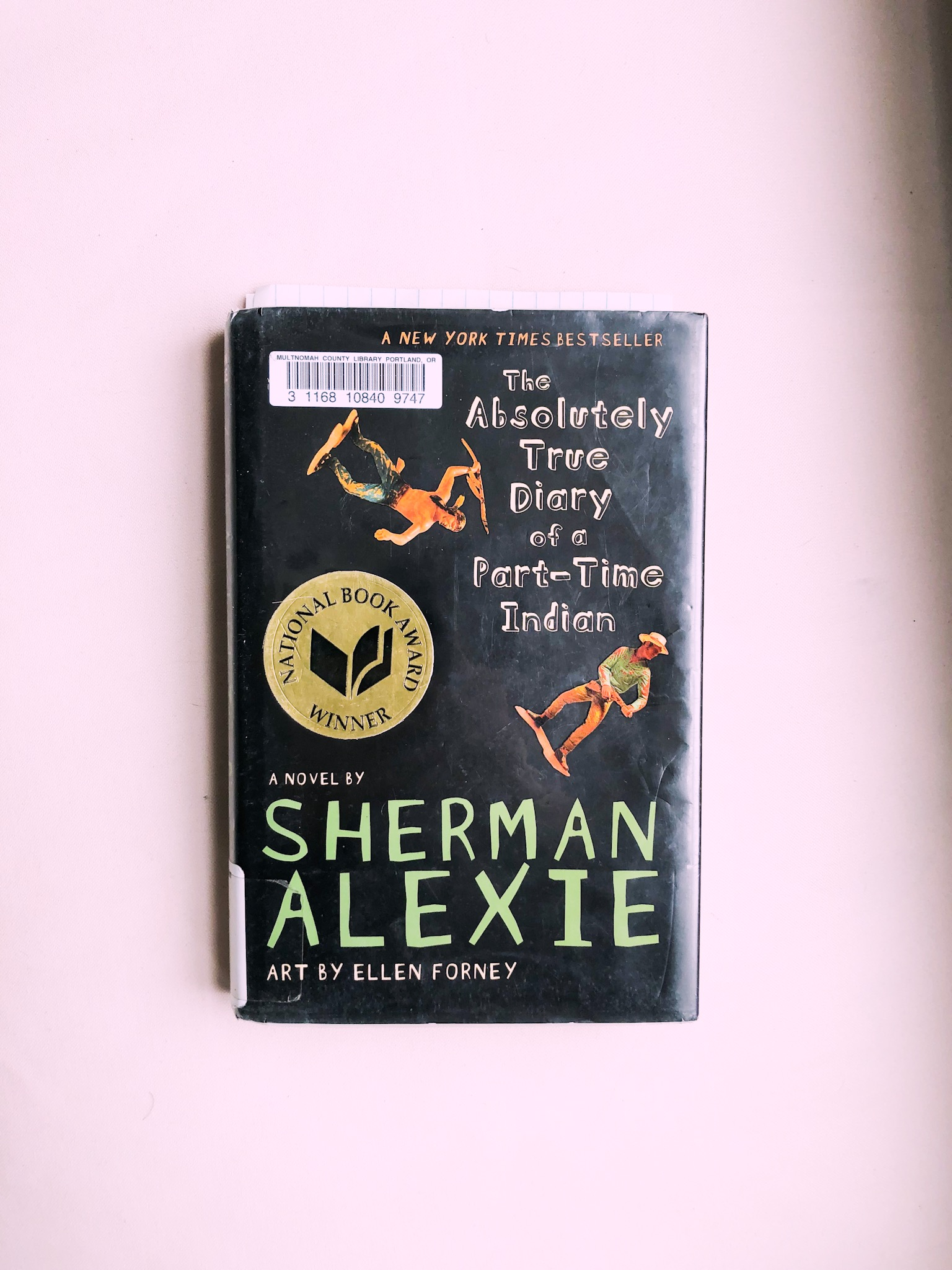 the absolutely true diary of a part-time indian - I absolutely adored this book by Sherman Alexie. Super easy read (it's probably a middle school book), but has really good themes of what it means to be a Native American and the dichotomy of having to live two different lives. I have been wanting to educate myself more on this, especially as I become more aware of the Native American issues (and well, the mere fact that basically all white people are living on stolen land), but I guess that's a different post. This book was very poignant but in a way that anyone can understand. I thoroughly enjoyed it and I'm excited to read more of Alexie's work.1/1