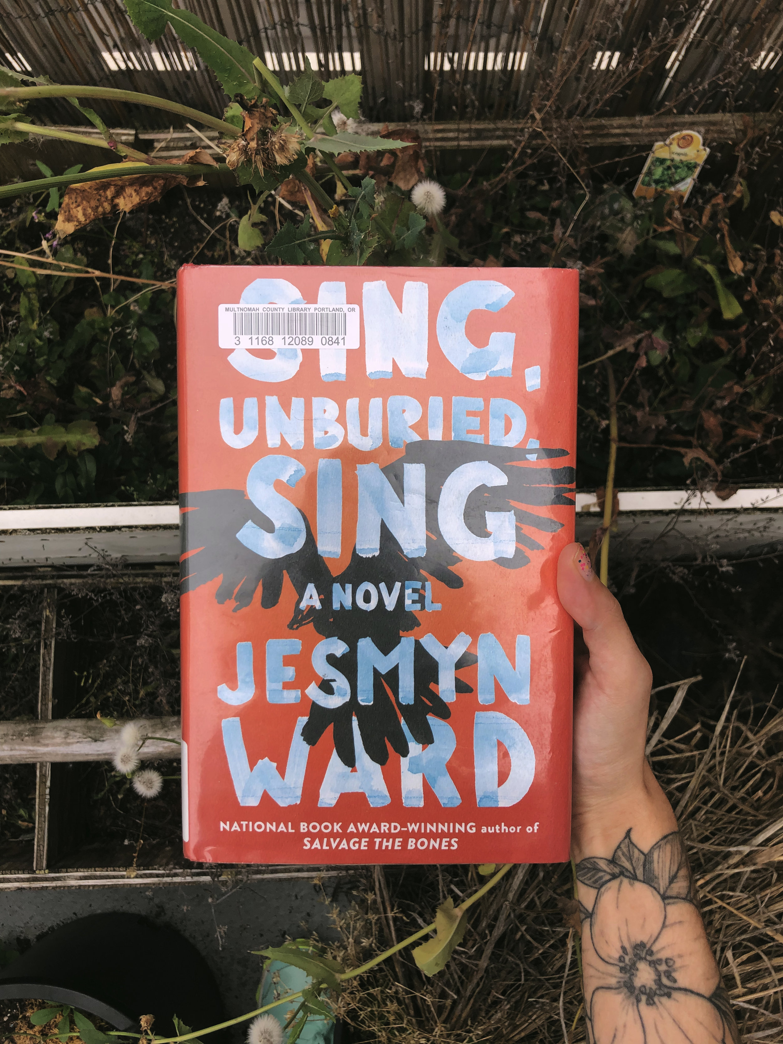 Sing, Unburied, Sing - by Jesmyn WardI loved this one, it has road trips, memories, and ghosts all while exploring what family and race means. I only wish we had gotten to know the characters even deeper, I feel like in a lot of ways Ward just brushed the surface of all the ideas in the book. But I absolutely loved it!