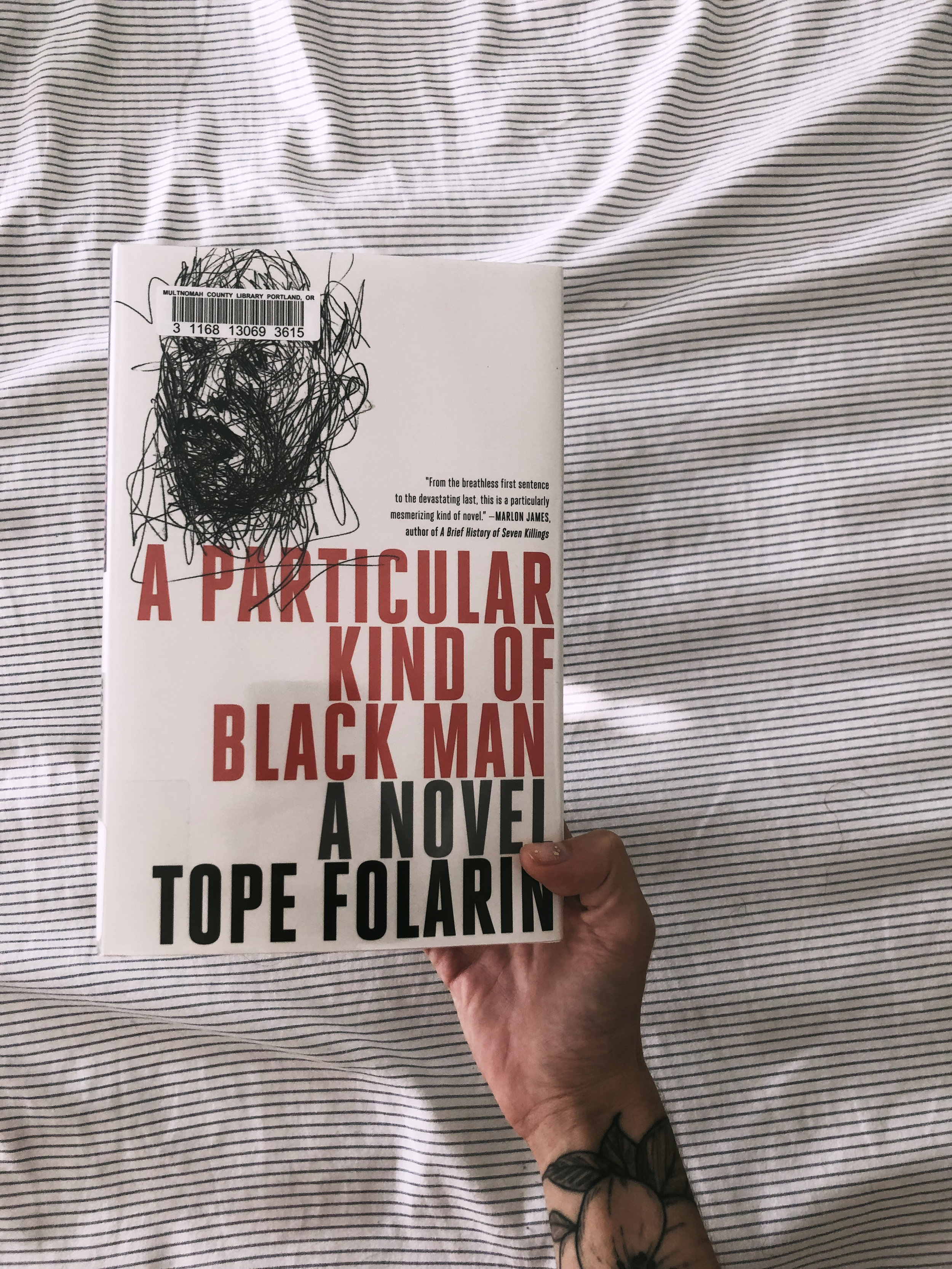 A Particular Kind of Black Man - by Tope FolarinAnother really beautiful book, I absolutely flew through this one. It talks about the struggles of being an immigrant and the racism that so many people experience in America. This novel also plays on the concept of memory and how our memories shape us as humans.