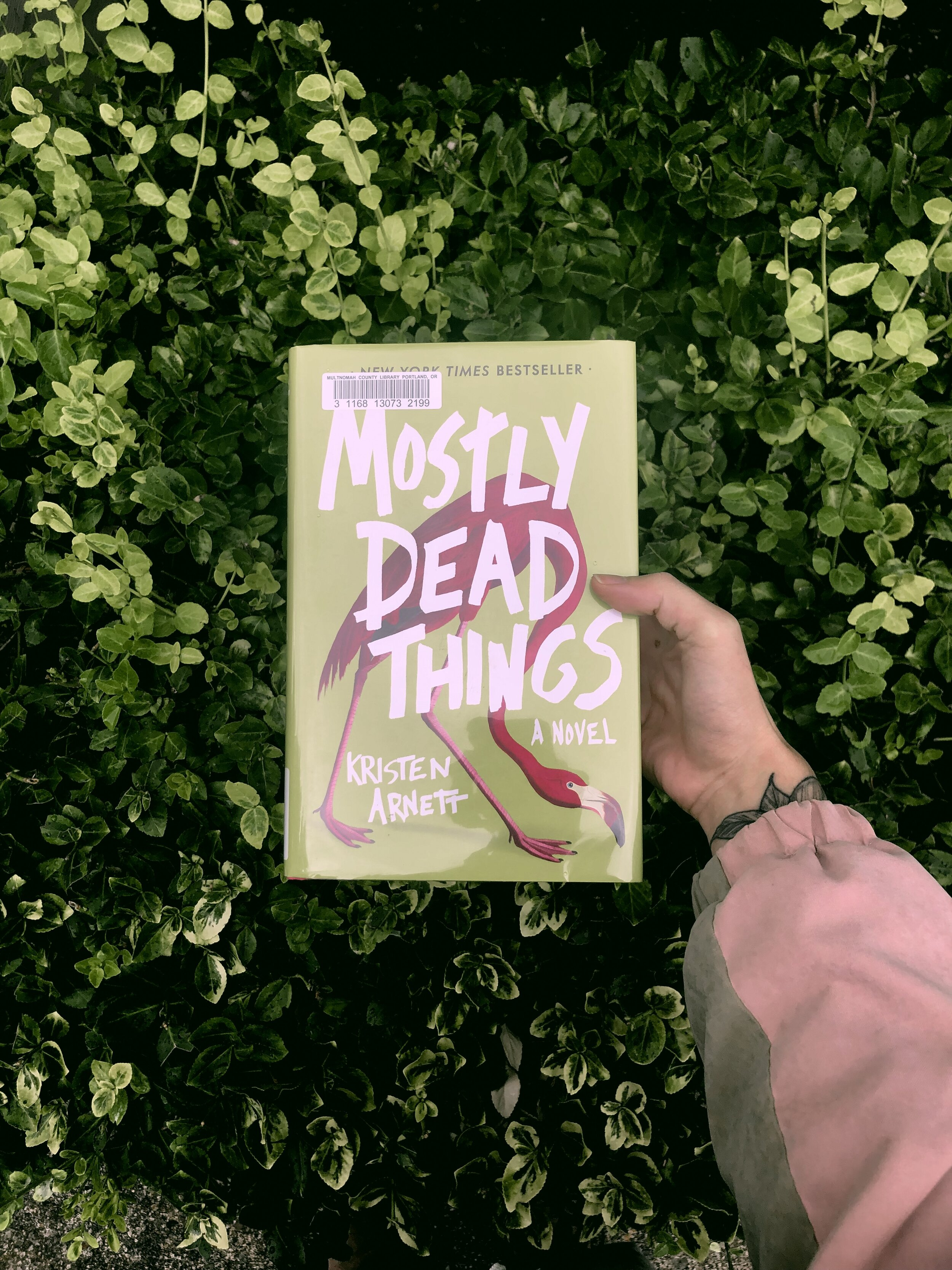 MOSTLY DEAD THINGS - by Kristen ArnettThis book was macabre and wacky, and on normal circumstances I would never have even picked it up. But Arnett made the characters so interesting and real that despite the very strange scenario, I really couldn't wait to see what happened on the next page.