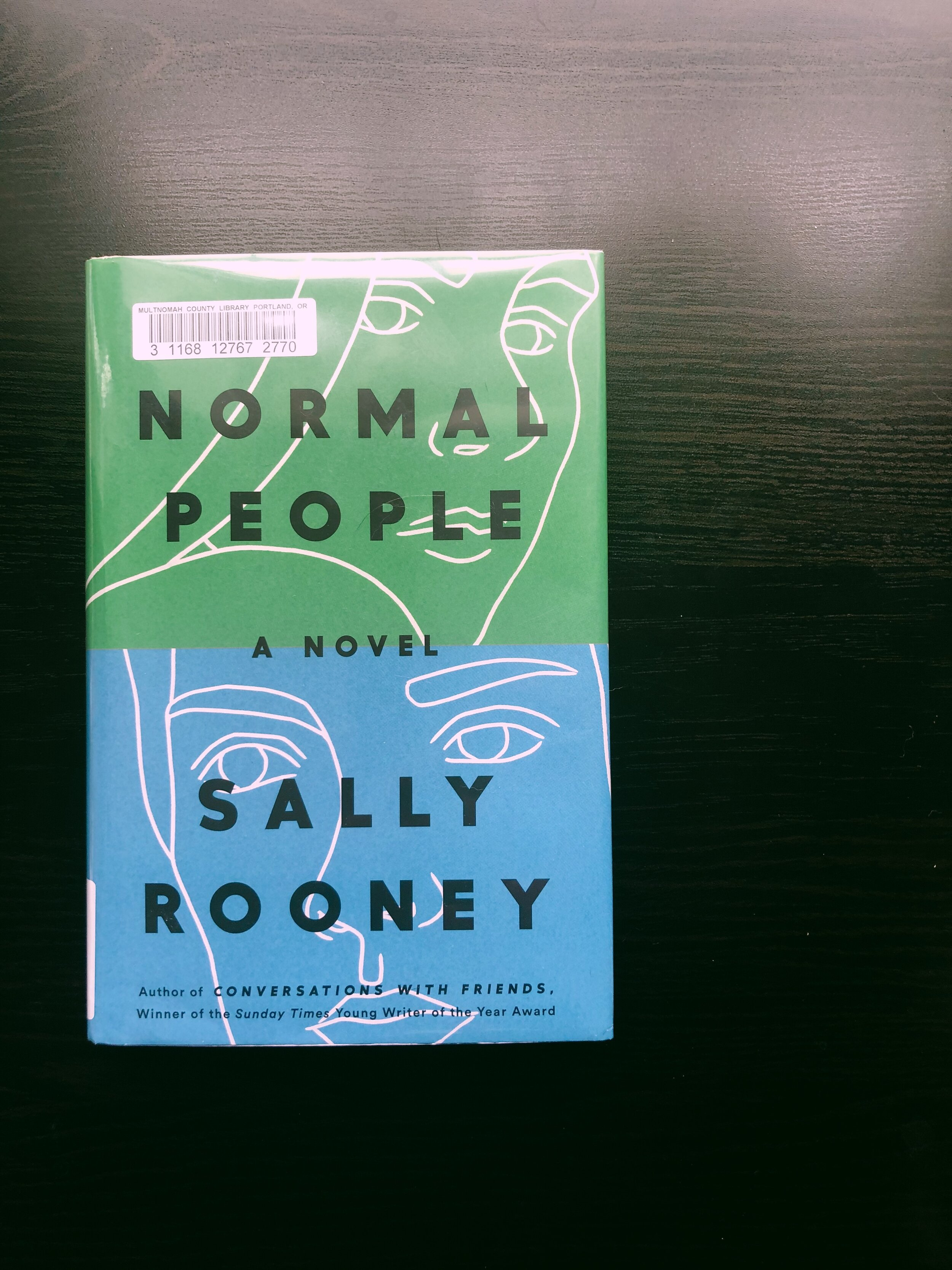 NORMAL PEOPLE - by Sally RooneyNow a book that really doesn't have good communication from its characters is this one. I found it very hard to be convinced of these people, and while the underlying psychology of the book was interesting, I wish I could have reached through and knocked some sense into the characters. The pacing of the book was also strange, as we would basically just get pockets of their lives, only at the point where they become reacquainted with each other, over and over again. Eh, wasn't too impressed with this.