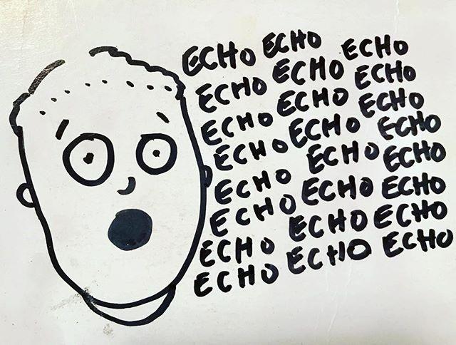 #echo
