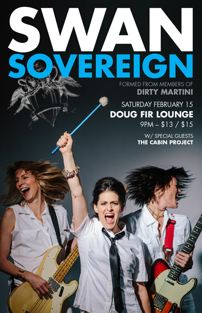 Swan Sovereign band promo poster