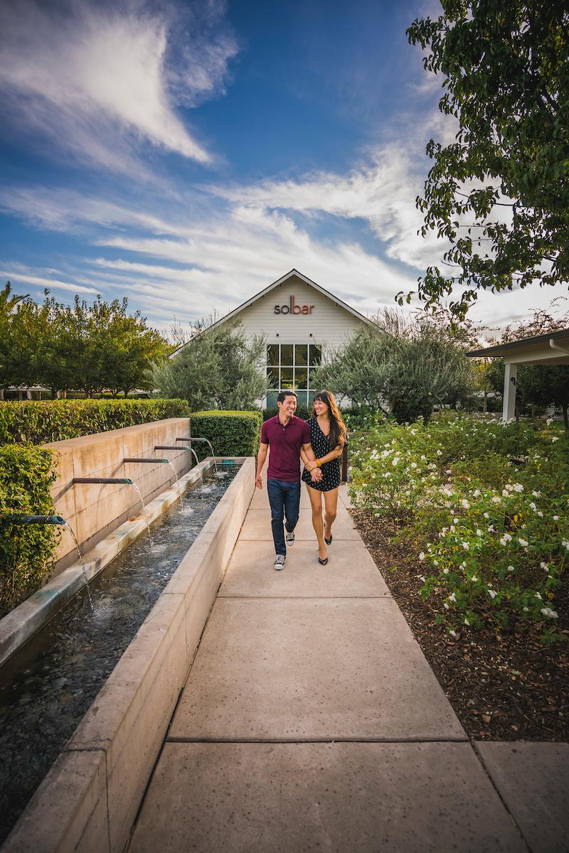 Solage Resort, Calistoga, Napa Valley, California
