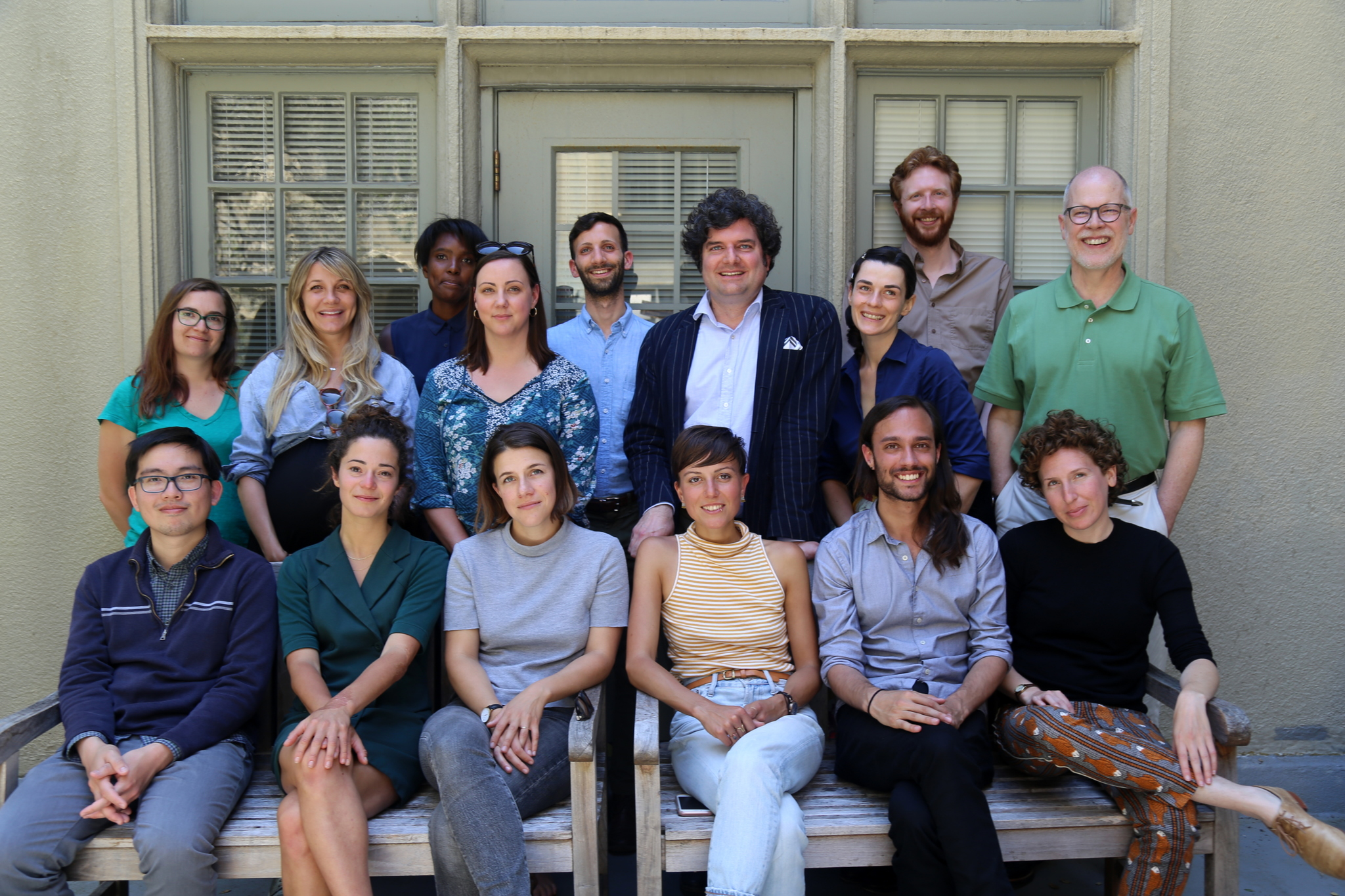 2018 Fellows with Professor Joseph Harris at the conclusion of this year's Summer Institute.