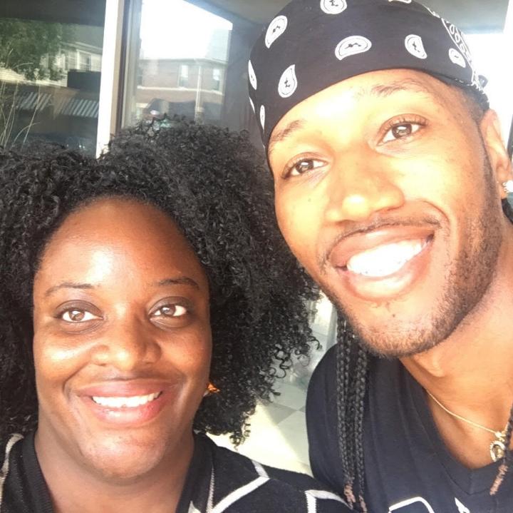 Roxanne Scott and Darnell Ferguson