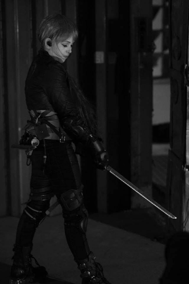 'Slasherhouse 2' by Mycho 2016, BTS shot by Luna Wolf