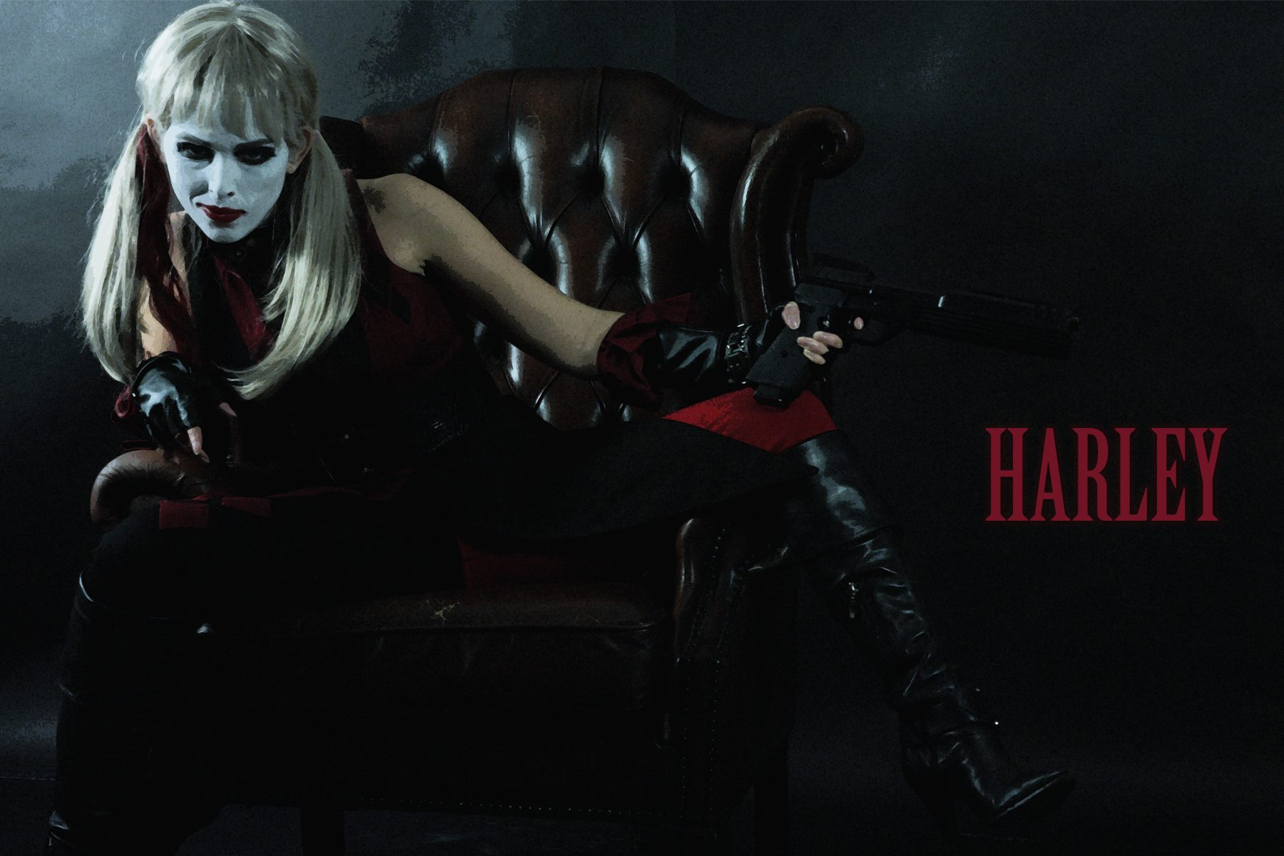 'Harley' short film photoshoot by CRO Productions, 2015