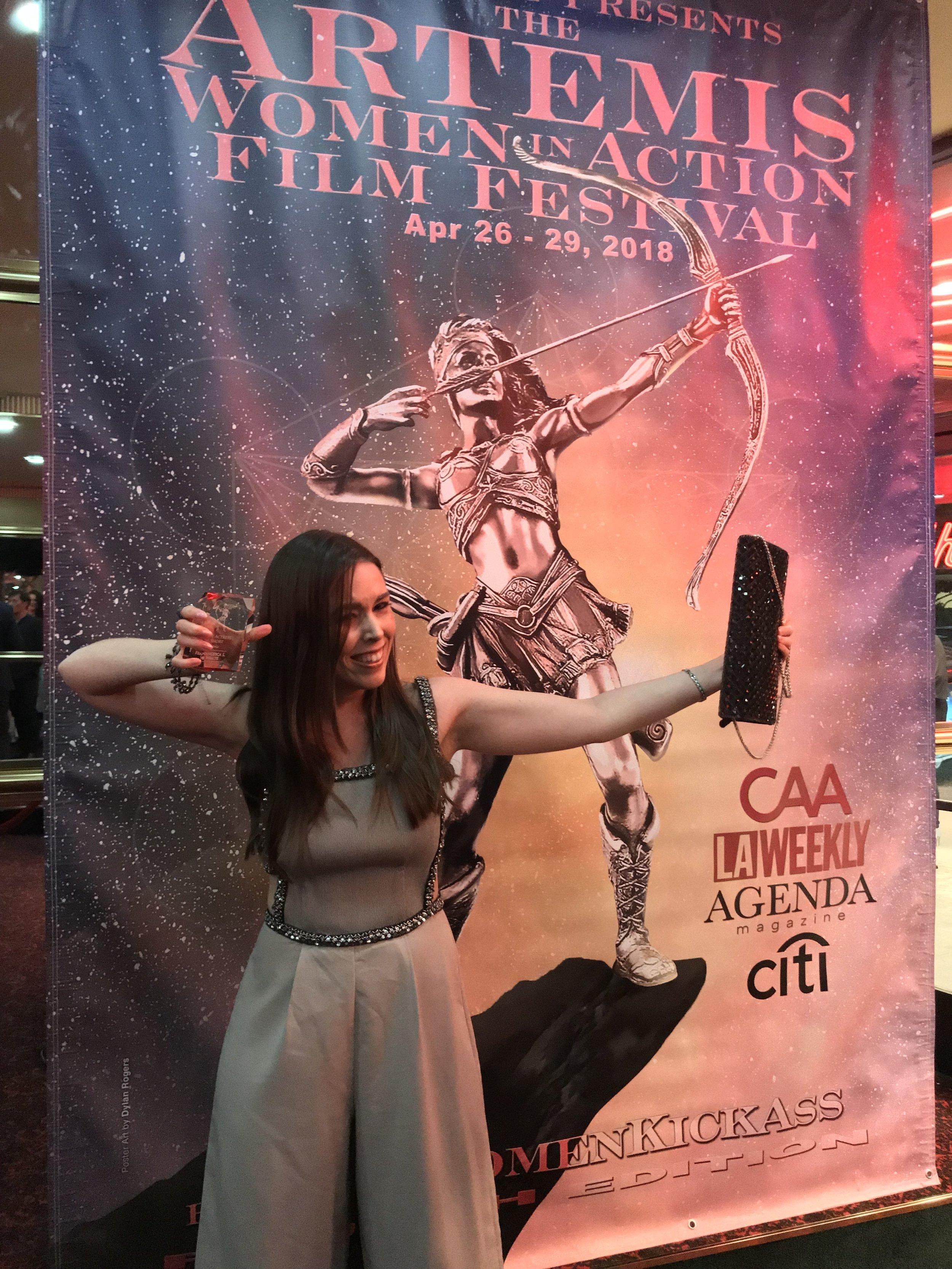 Artemis 'Women In Action' Film Festival, Beverly Hills April 2018