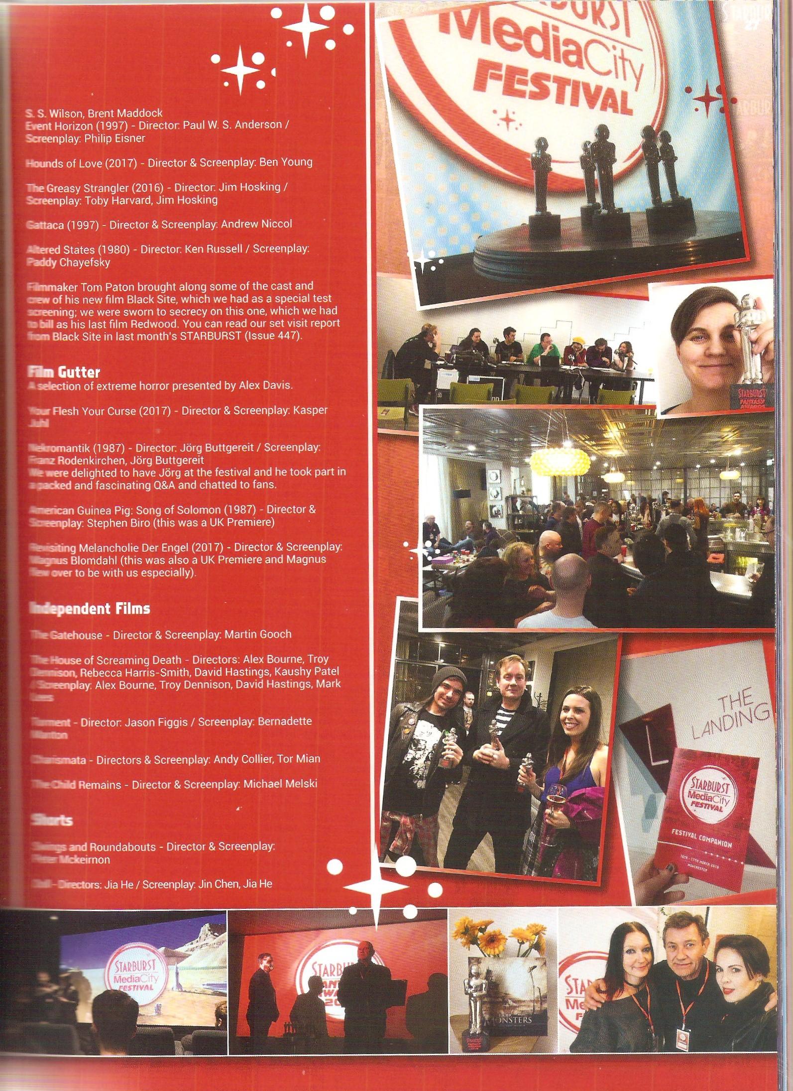 STARBURST Magazine, issue 448