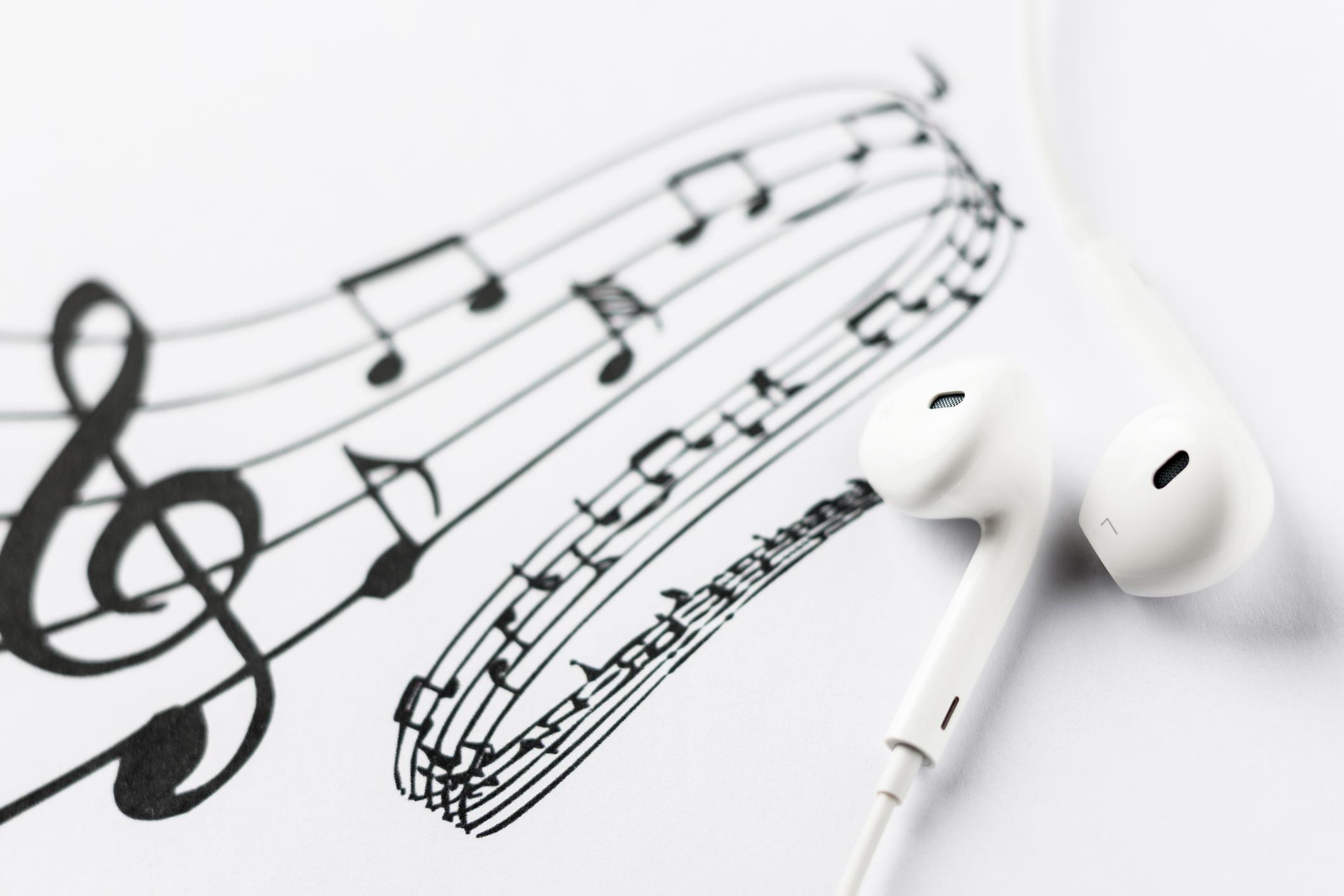 Verbindung zu Musikplanungs-Software -
