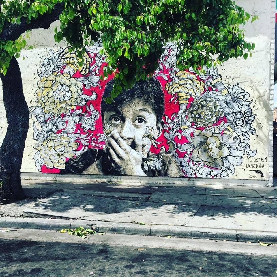 Mural: Liseth.A, LAPIZTOLA