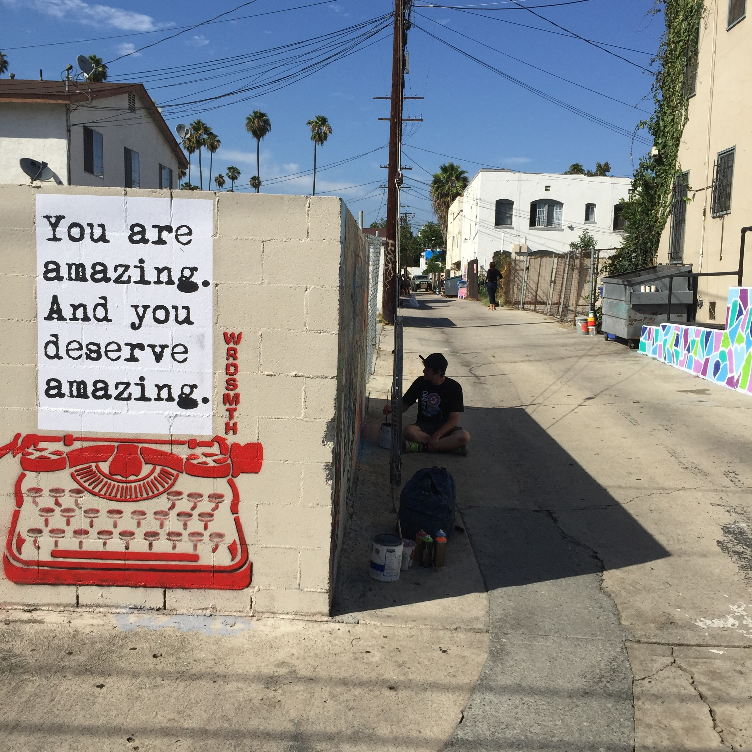 Mural: WRDSMTH
