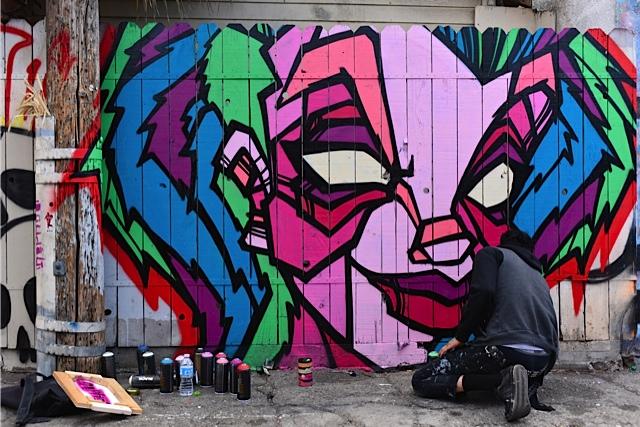 Mural: Kophns / Photo: Jeffrey Sklan