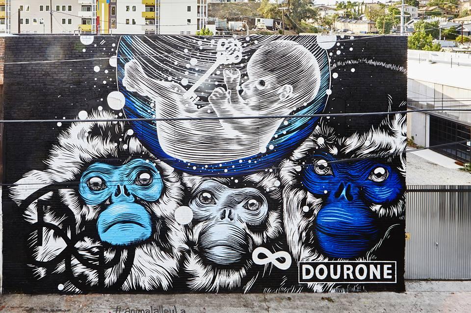 Mural: DOURONE Photo: Jay Kantor