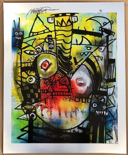 """Joey Feldman """"Miasma""""   giclée on 315 Moab Metallic paper  20 x 16 inches Edition of 6, signed and numbered  SOLD OUT ($350)"""