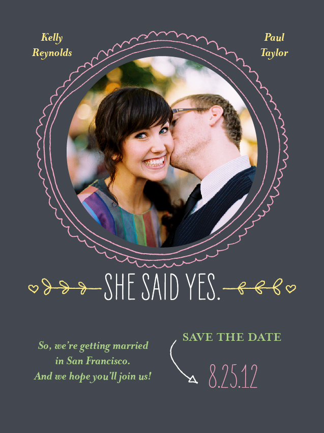 Engagement Announcement for Shutterfly