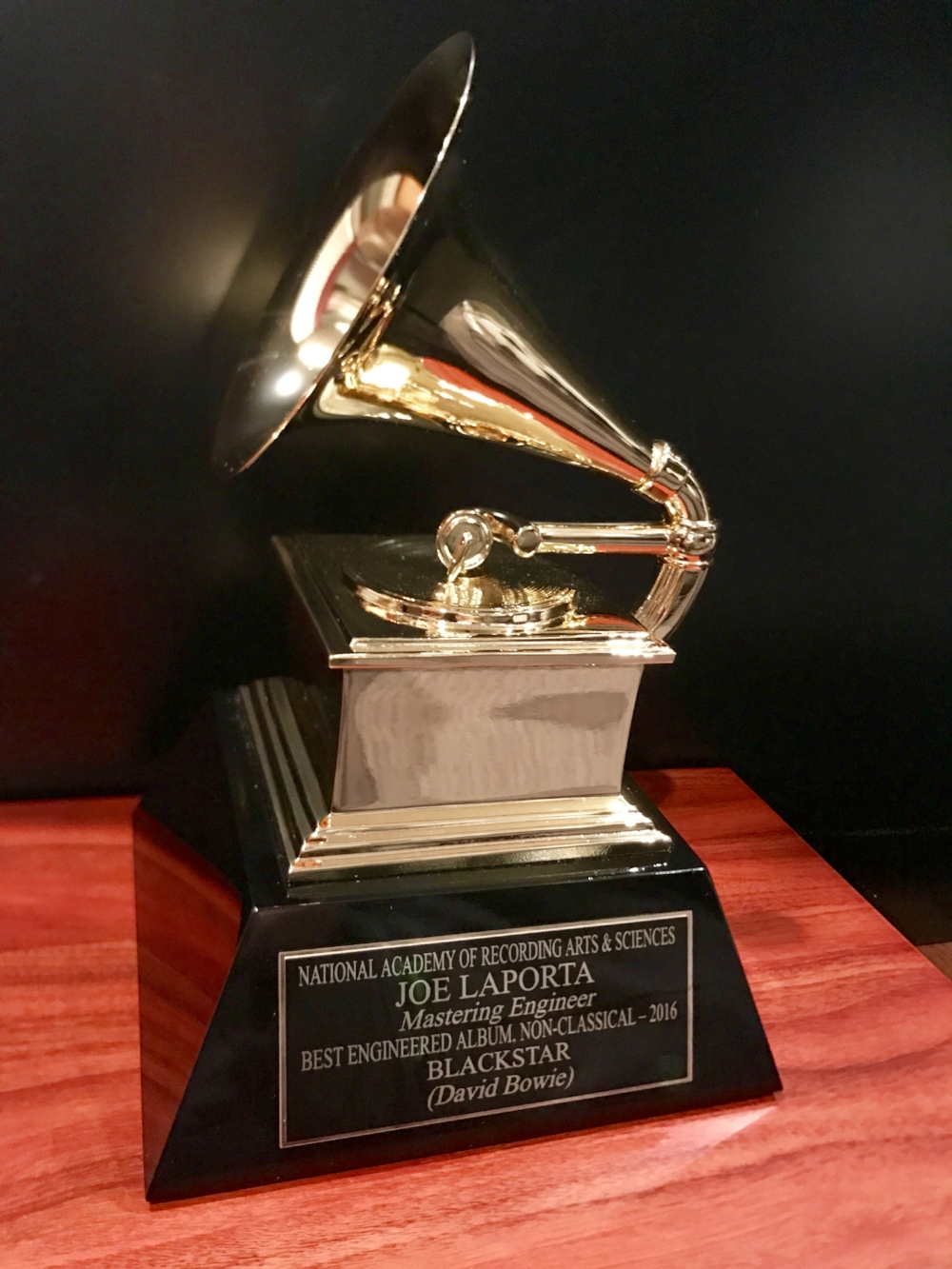Bowie was awarded a posthumous Grammy for the album Blackstar & the album won several technical awards, as well.