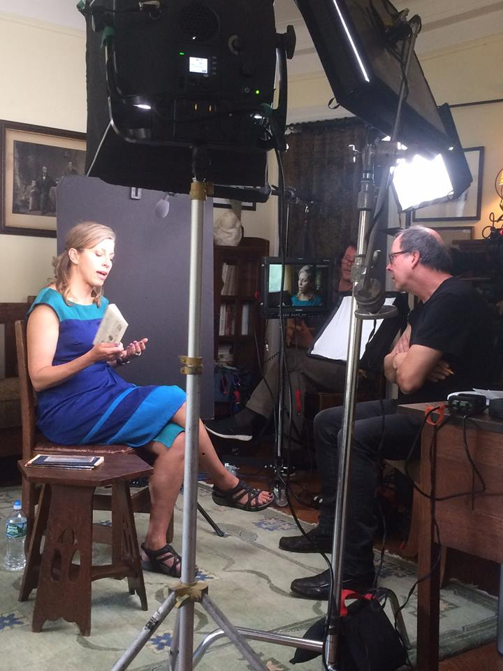 Ric interviewing Architectural Historian Jennifer Reut.