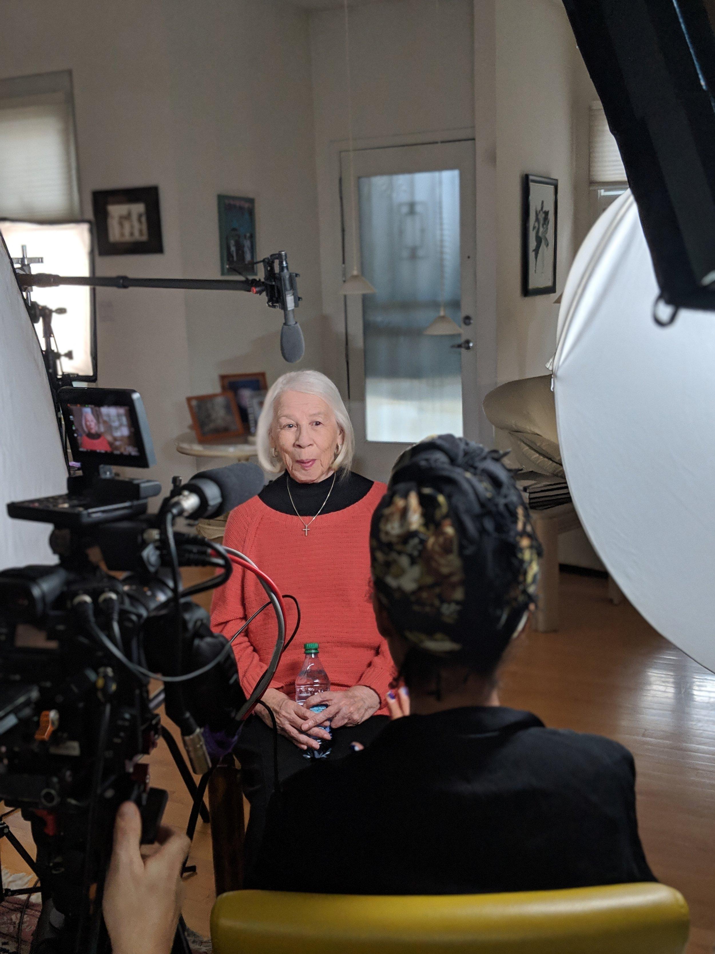 Interview with Nancelia Jackson. Photo by Emily Pfeil
