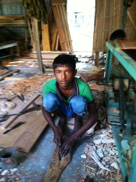 Carpentry Trainee Begins Course in Gopalgonj, Bangladesh.JPG