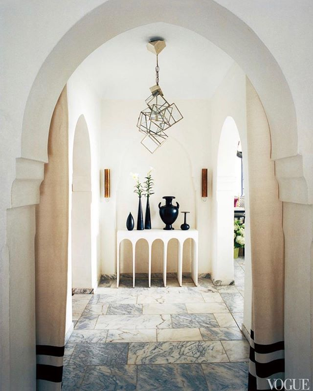 Serenity in Morocco. The home of @brunofrisoni and @hervevanderstraeten . . #madeleineinteriors #inspiration #interiordesign #hervevanderstraeten #brunofrisoni #morocco #serenity #lightinterior #arches #marblefloors #design #dramaticdesign #interiors #newportbeachdesigner #newportbeachinteriors #cdmdesigner #cdminteriordesigner #coastalhomes #coastalcontemporary #classicdesign #designclassic #contemporaryclassic #coastaldesign #losangeleshomes #losangelesdesign #ladesigner #losangelesinteriordesigner #losangelesinteriordesign #luxeliving #luxurylifestyle