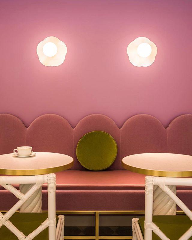 Ladurèe Tokyo by @indiamahdavi . . #madeleineinteriors #indiamahdavi #inspiration #designincolour #color #colorfulinterior #colorfulinteriors #pinkinteriors #greeninteriors #contemporarydesign #classicdesign #hospitalitydesign #eclecticdesign #laduréetokyo #ladurèe #interiors #interiorstyling #interiorgoals #losangelesdesign #losangelesdesigner #ladesigner #losangelesinteriordesigner #losangelesinteriordesign #newportbeachdesigner #newportbeachinteriors #ocdesigner #ocinteriordesigner #newportbeachhomes #losangeleshomes