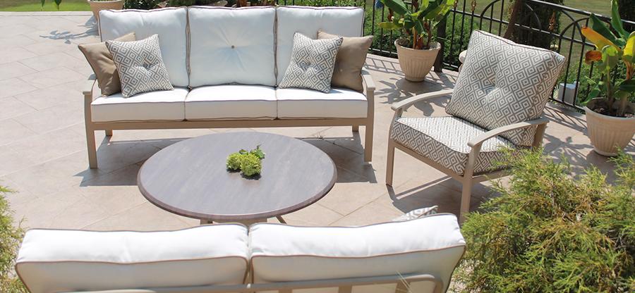 Crimson Grayton Grove Cushion