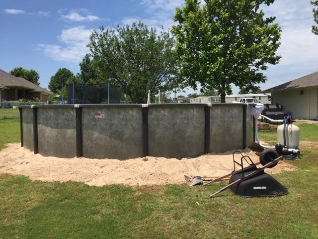 Element Above Ground Pool Installation