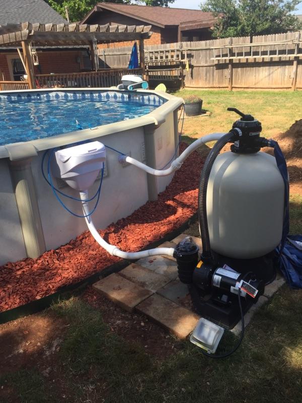 Millenium Above Ground Pool Pump & Filter