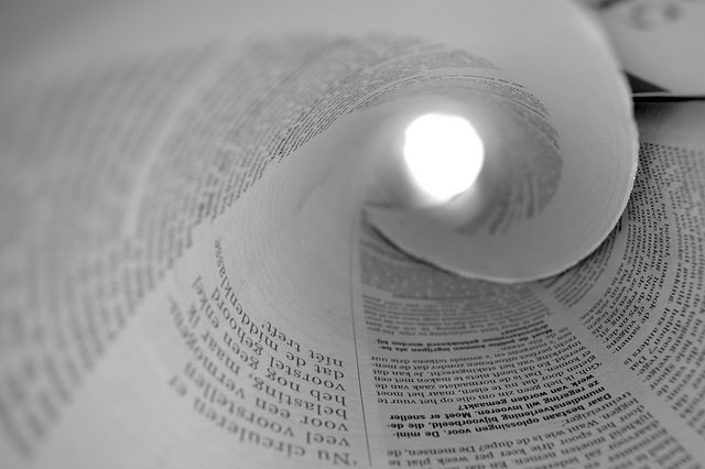 """""""Newspaper,""""by   Silke Remmery  via flickr, news banner image,  Creative Commons  verified 12/06/2106"""