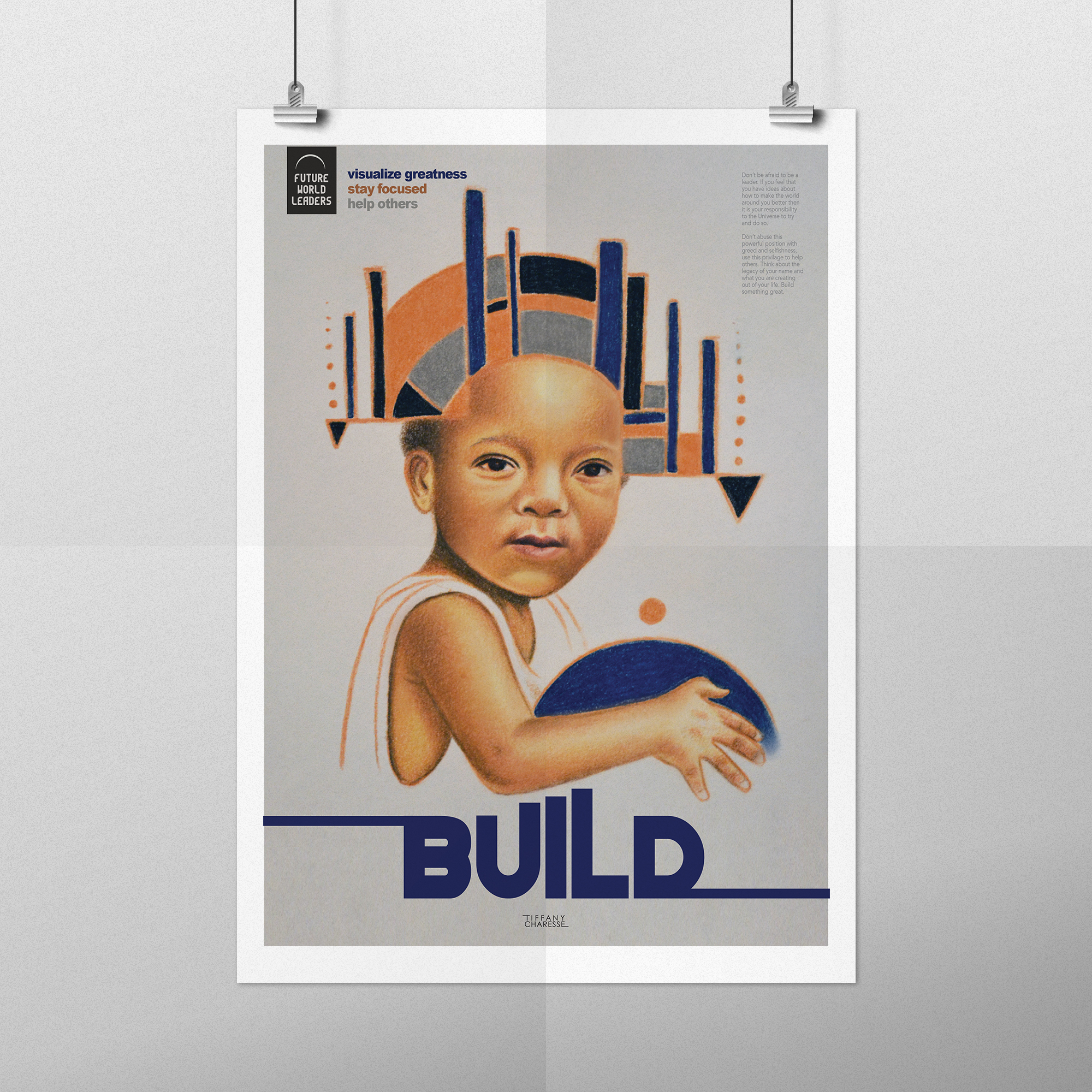 FUTURE WORLD LEADERS -   Poster Design