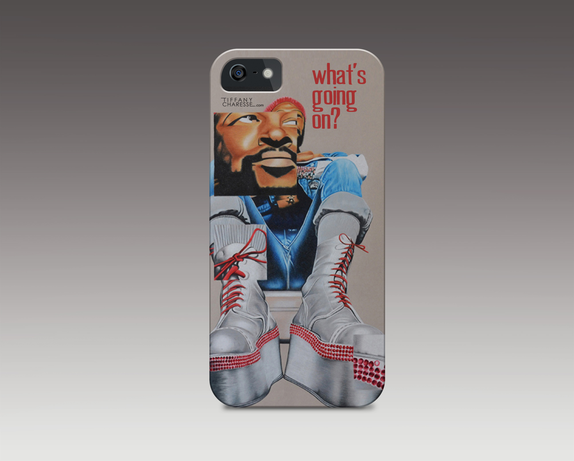 TIMELESS TALENTS -Marvin Gaye iPhone Case