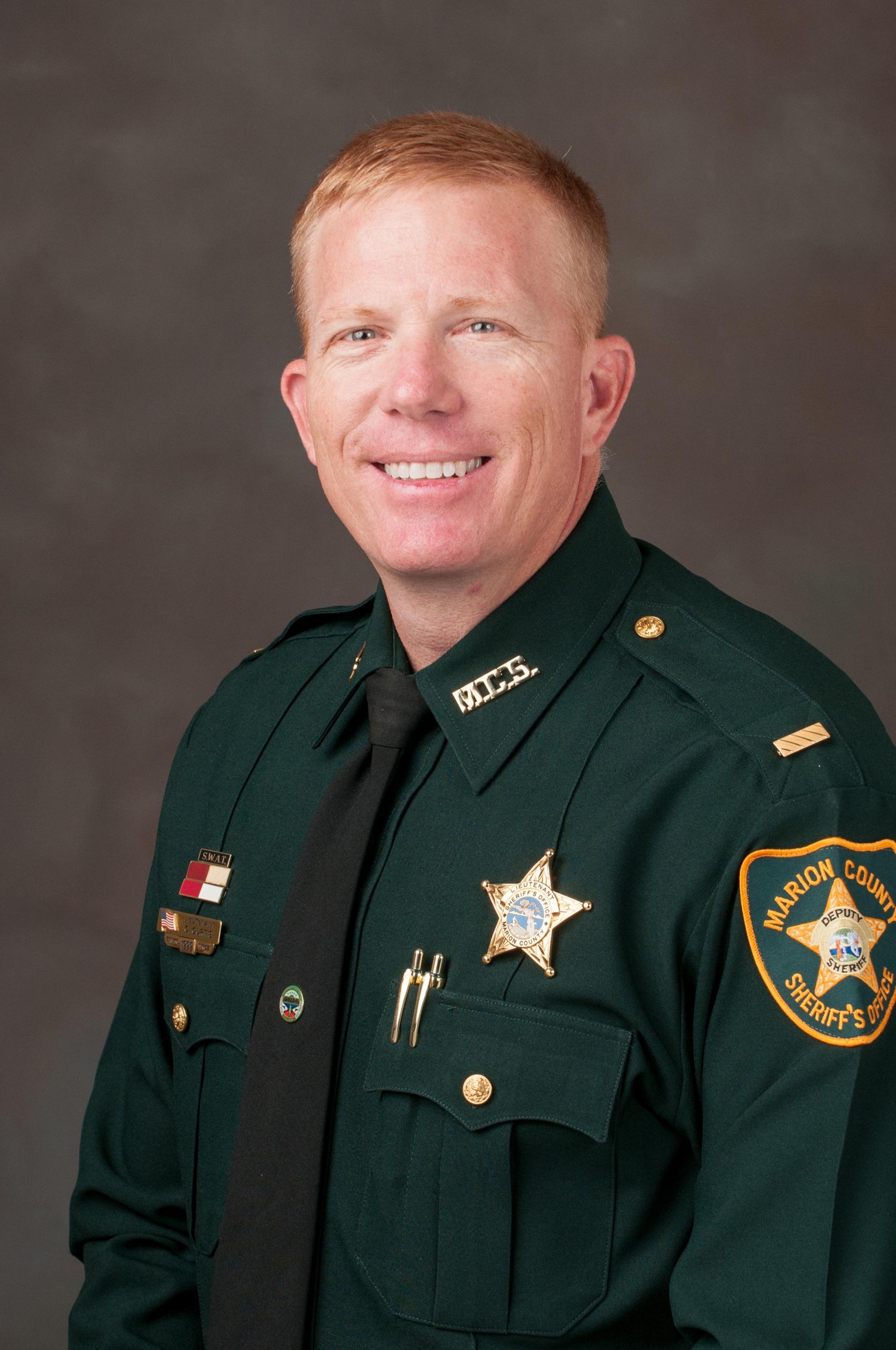 Lieutenant Carlton Curtis   North-Central District Commander   ccurtis@marionso.com