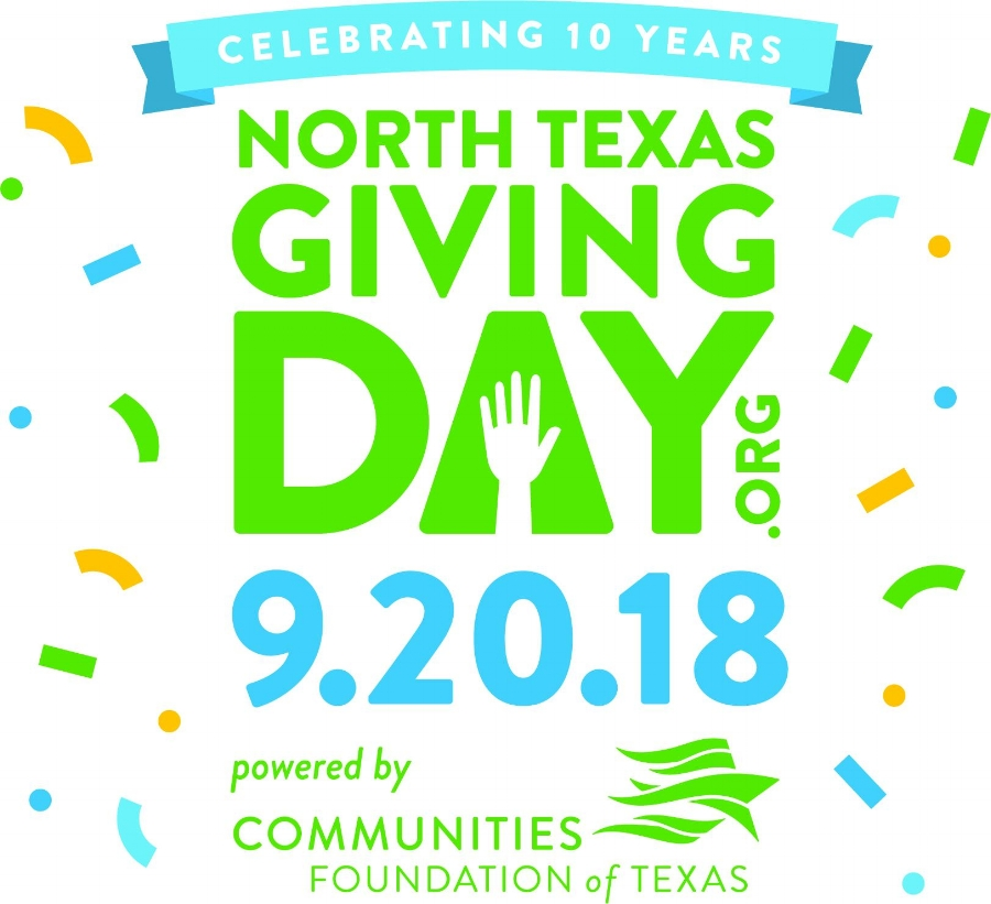 Giving Day provides a rallying platform for the greater North Texas community to broadly support the non-profit organizations you love!  Due to the generous support of members like you, we raised $7,150 last year through this opportunity!