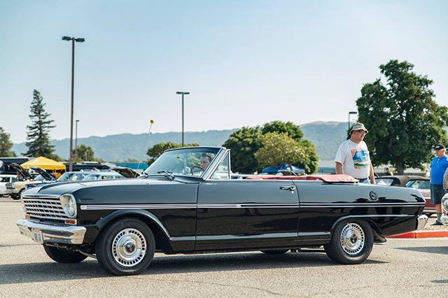 """""""Canada Carl's"""" beautiful 63 convertible at our show this weekend"""